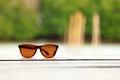 Eyesight through nature Royalty Free Stock Image