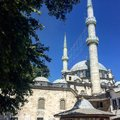 Eyup sultan mosque and his are very important for istanbul Stock Image