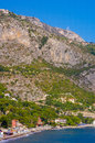 Eze bord de mer c te d azur beach villa in france mediterranean europe the tiny locality in the cote azure is famous to host the Royalty Free Stock Image