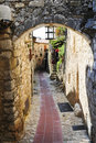 Eze in France Royalty Free Stock Photo
