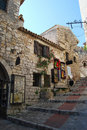 Eze Village Stock Image