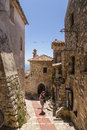 Eze village france is a commune in the alpes maritimes department in southeastern not far from the city of nice the commune is Royalty Free Stock Photography