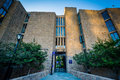 The Ezra Stiles College Building, at Yale University, in New Hav Royalty Free Stock Photo