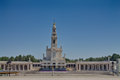 Fátima sanctuary of fatima located in portugal Royalty Free Stock Photo