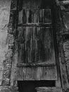 Fästningdörr Arkivfoto