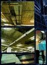 För fotorost för samling industriell värld Royaltyfria Foton