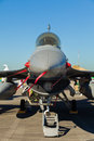 F-16 Fighting Falcon jet airplane Royalty Free Stock Photography