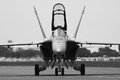 F-18 Hornet Royalty Free Stock Photo