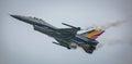 F16 jet aircraft Royalty Free Stock Photo