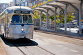 F-Line Street Car, San Francisco Stock Photography