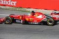F1 Photo - Formula One Ferrari  Car :  Fernando Alonso Royalty Free Stock Photo