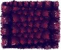 F;uffy flur balls dark colors