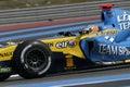 F1 2006 - Fernando Alonso Renault Royalty Free Stock Photo