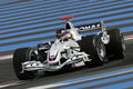 F1 2006 - Jacques Villeneuve BMW Sauber Royalty Free Stock Photo