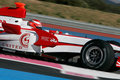 F1 2007 - James Rossiter Super Aguri Royalty Free Stock Photography