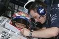 F1 2007 - Kazuki Nakajima Williams Stock Photos