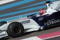 F1 2007 - Robert Kubica BMW Sauber Royalty Free Stock Photo