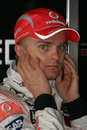 F1 2008 - Heikki Kovalainen McLaren Royalty Free Stock Photo