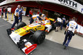 F1 2009 - Nelson Piquet Renault Royalty Free Stock Photo