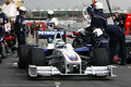 F1 2009 - Nick Heidfeld BMW Sauber Royalty Free Stock Photo