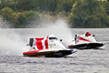 F4 powerboat racing Royalty Free Stock Photography