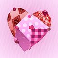 Fabric of love Stock Images