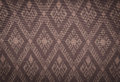 Fabric pattern background of thai style Royalty Free Stock Image