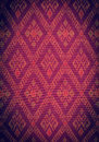 Fabric pattern background of thai style Stock Images