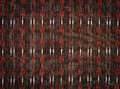 Fabric pattern background of thai style Stock Image