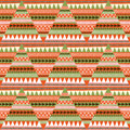 Fabric pattern with geometric pattern texture Stock Images