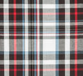 Fabric plaid background black Royalty Free Stock Photo
