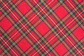 Fabric plaid texture Royalty Free Stock Photo