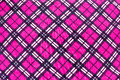 Fabric plaid texture cloth background Royalty Free Stock Photography