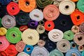 Fabric Rolls Royalty Free Stock Photo