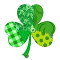 Fabric Shamrock Royalty Free Stock Photo