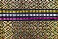 Fabric silk thai