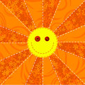 Fabric Sun Royalty Free Stock Photo
