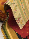 Fabric Swatches Stock Image