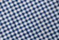 Blue and White Lumberjack Plaid Pattern Background Royalty Free Stock Photo
