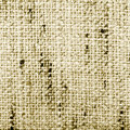 Fabric texture, sepia Stock Photography