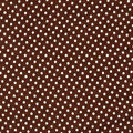 Fabric texture with white dots brown Stock Photos