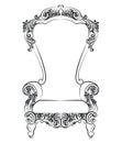 Fabulous Rich Baroque Rococo Armchair