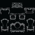 Fabulous Rich Baroque Rococo furniture set