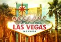 Fabulous vegas welcome to las nevada strip entrance sign Royalty Free Stock Photos