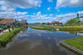 Fabulous zaanse schans landscapes and reflections from Stock Photos