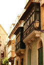 Facade in birgu vittoriosa malta Stock Photography