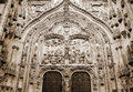 Facade of cathedral of Salamanca