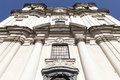Facade of Church on Skalka,  Pauline Fathers Monastery, Krakow, Poland Royalty Free Stock Photo