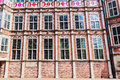 Facade of the devil house in Arnhem, Netherlands Royalty Free Stock Photo