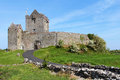 Facade of dunguaire castle famous near galway ireland Stock Image